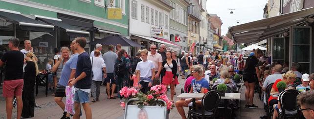 Folk på gaden